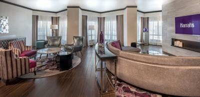Harrah's Las Vegas $140 million renovation and 80th Anniversary